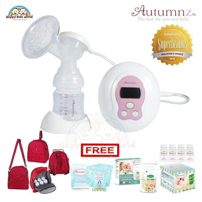 Autumnz Bliss G2 Single Electric Breastpump + Free Gifts