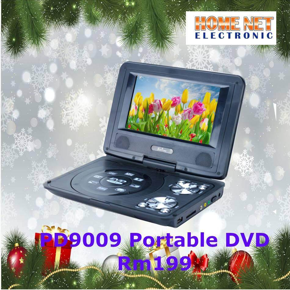 Dhome PORTABLE DVD PLAYER PD-9009