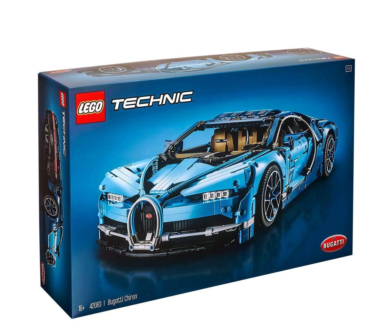 NEW Bugatti Chiron Technic Legoing 42083 Racing Car Sets Model Building Blocks