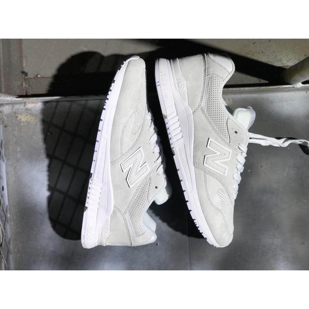 ยี่ห้อนี้ดีไหม  อุดรธานี NEW BALANCE 840 nb840 REVlite สีขาวสีเทาผู้ชายชุดกีฬาวิ่งสตรีรองเท้า size36-44