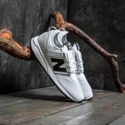 สอนใช้งาน  ขอนแก่น YT 【 STOCK】New BALANCE/NB 247 รองเท้าผ้าใบสีขาวสำหรับผู้ชายและผู้หญิง