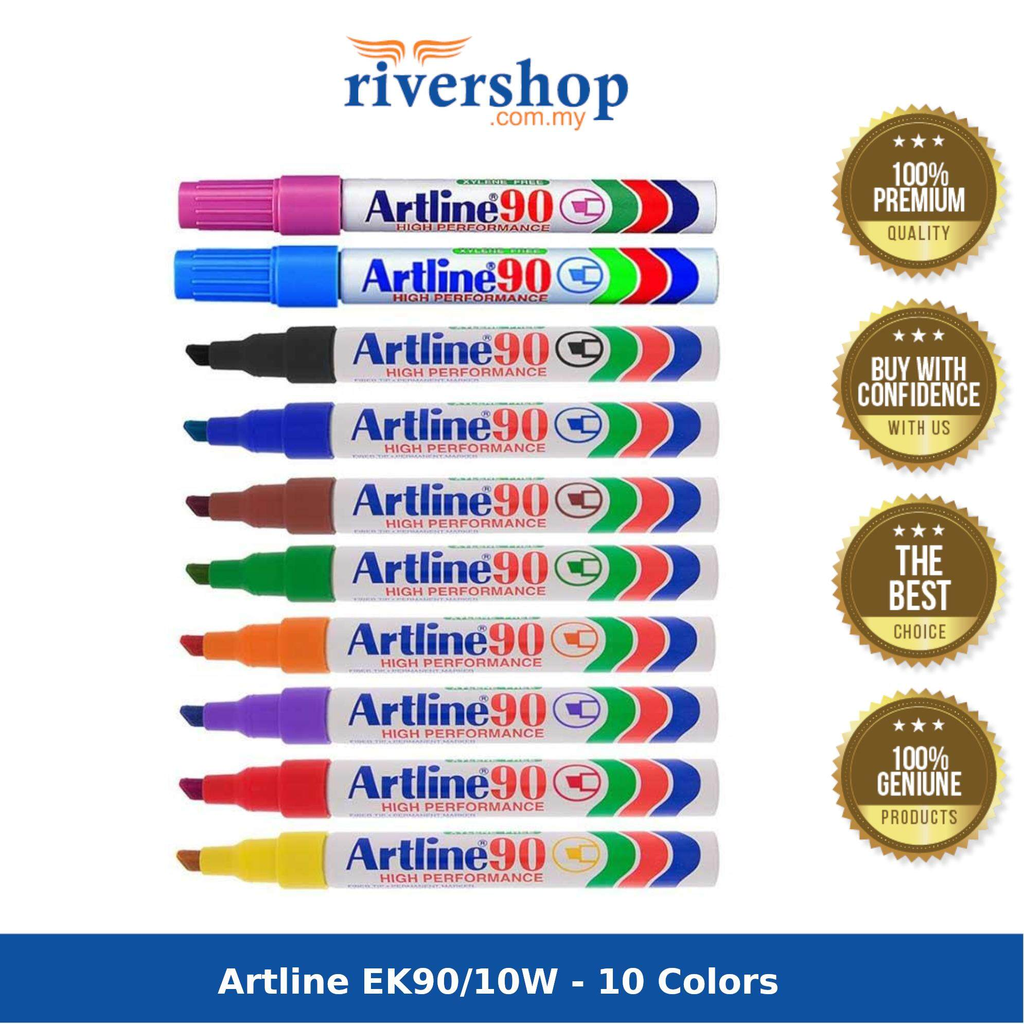 Artline EK90/10W - 10 Colors
