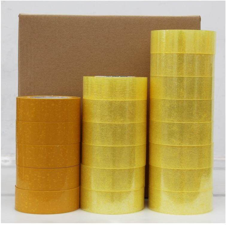 6 ROLLS OPP TAPE CLEAR 43MM X 200METER OPP ADHESIVE TRANSPARENT PACKAGING TAPE