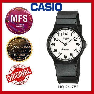 (2 YEARS WARRANTY) CASIO ORIGINAL MQ-24 SERIES UNISEX KID'S WATCH