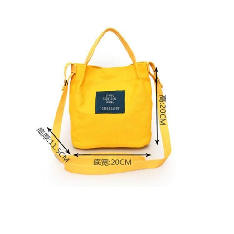 กระเป๋าถือ นักเรียน ผู้หญิง วัยรุ่น หนองบัวลำภู IELGY ผ้าใบกระเป๋าเอกสารสตรีกระเป๋าขนาดเล็ก