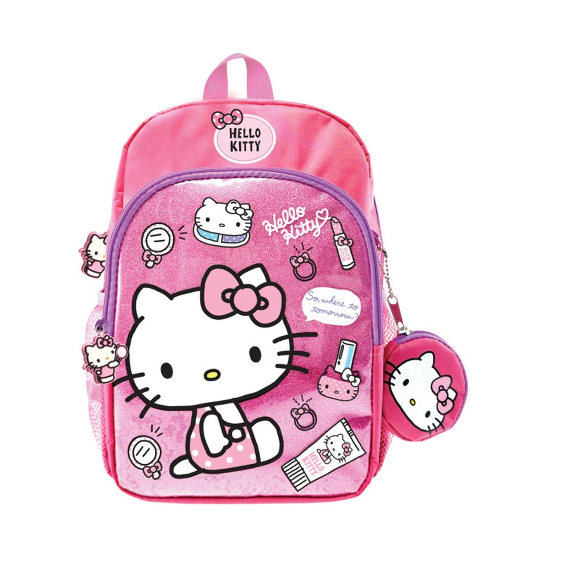 Sanrio Hello Kitty Small Backpack 12 Inches - Pink Colour
