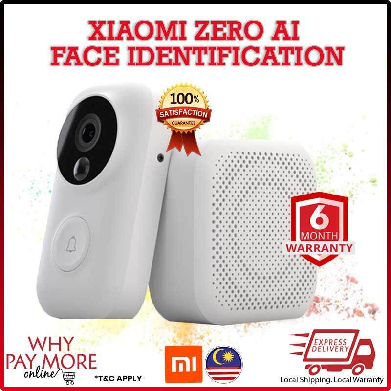[Original] Xiaomi Zero AI Face Identification 720P IR Night Vision Video Doorbell Set Motion Detection [Import]