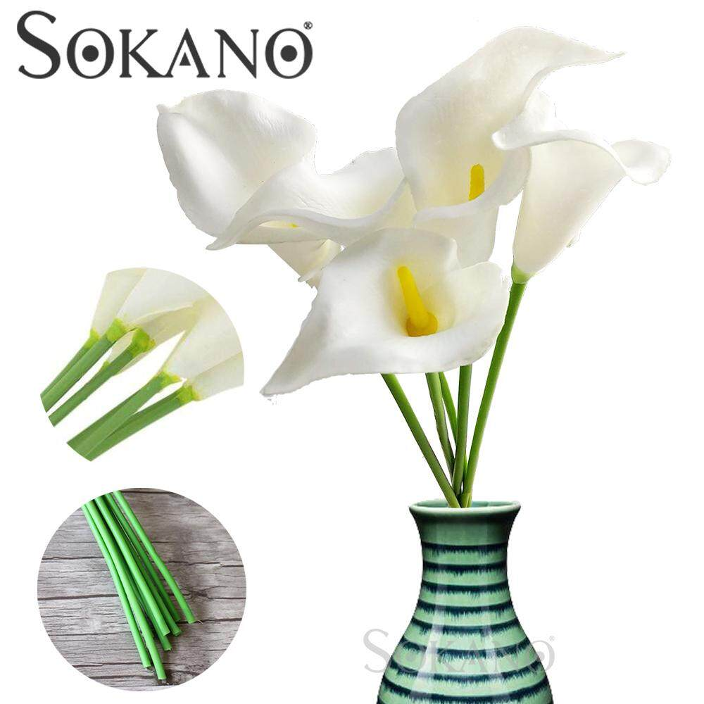 (RAYA 2019) Calla lily Artificial flowers - 5pcs