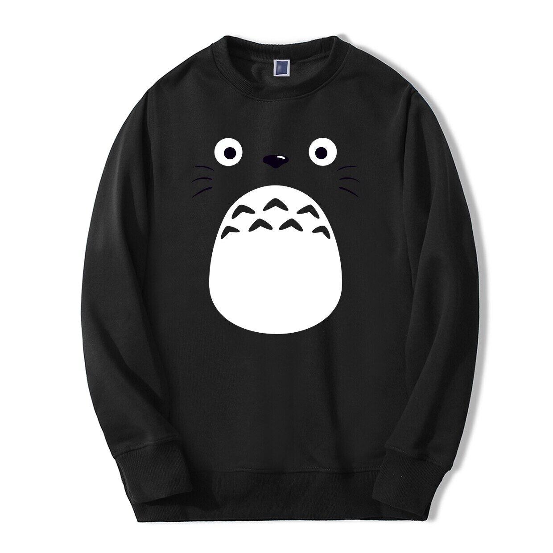 Tonari No Totoro Anime Nhật Bản In Hình Mùa Xuân Mùa Đông Thời Trang Áo Khoác Hoodie Hip Hop Phong Cách Tập Thể Hình Giày Phù Hợp Với Áo Cho Người Hâm Mộ 2020 cotton Người Áo Len