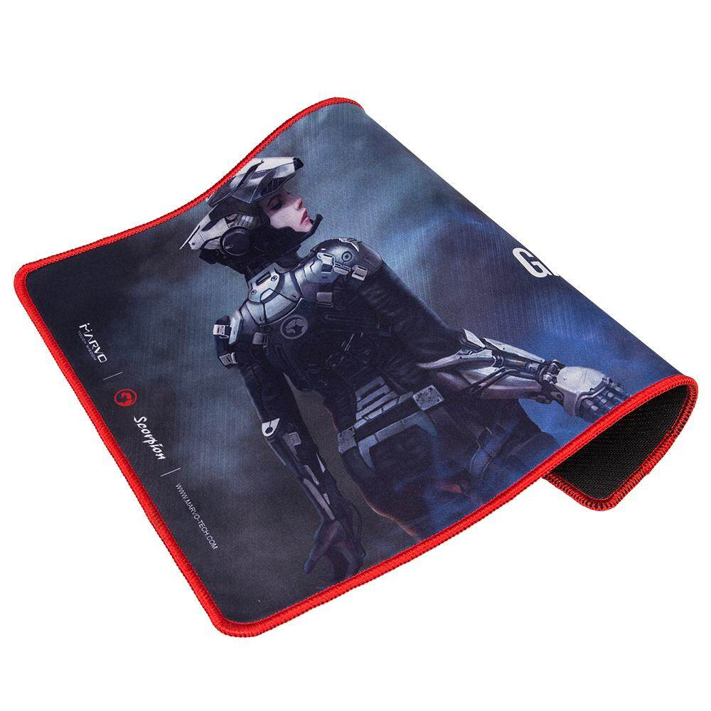 Marvo Scorpion G15 Gaming Mousepad Smooth Mouth Cloth Surface (Medium Pad Size : 352 x 252 x 3 mm)