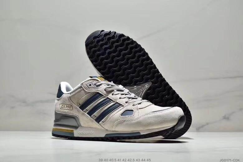 Adidas Originals ZX750 Giày Casual Nam Phiên Bản Giới Hạn Chạy Bộ Chất Lượng Bảo Hành Mùa Hè
