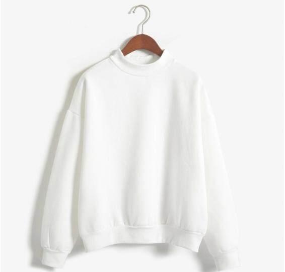 READY STOCK Baseball jacket high collar loose padded sweater
