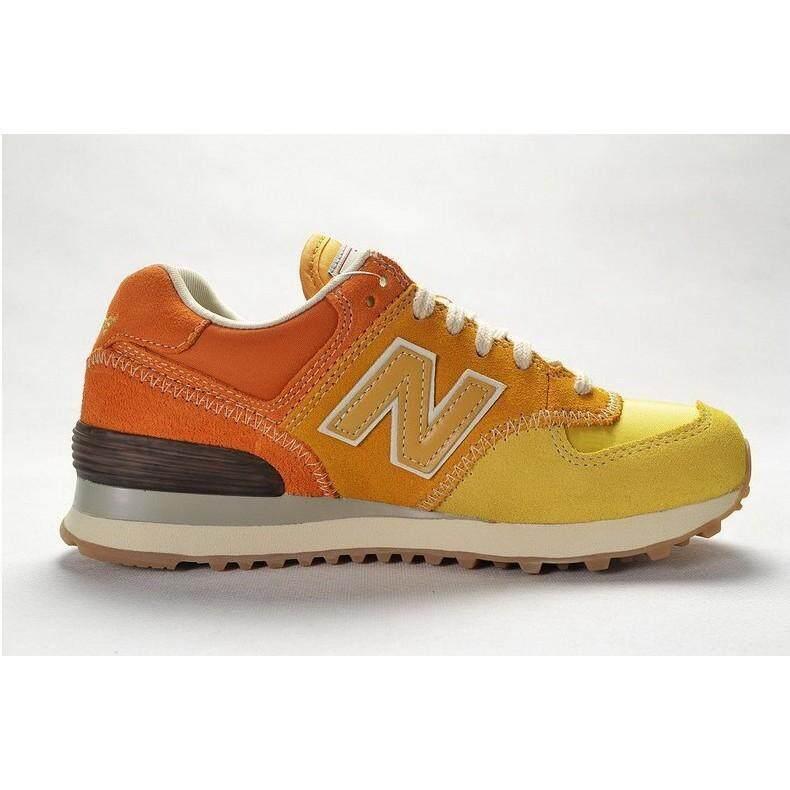 ยี่ห้อไหนดี  สมุทรสาคร original_new_balance_574_nb574_yellow_color_sport_running_shoe_men_women_36-44