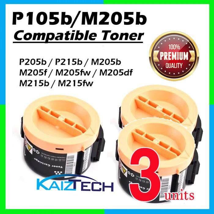Fuji Xerox P205b / P215b / M205b / M205f / M205fw / M215b / M215fw (3 Units) Super Grade Compatible Toner Cartridge