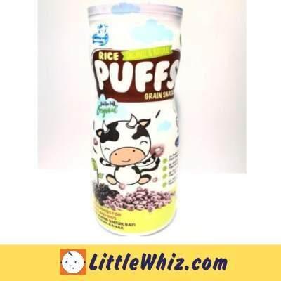 Mini Munchy: Black Rice Puff - Original