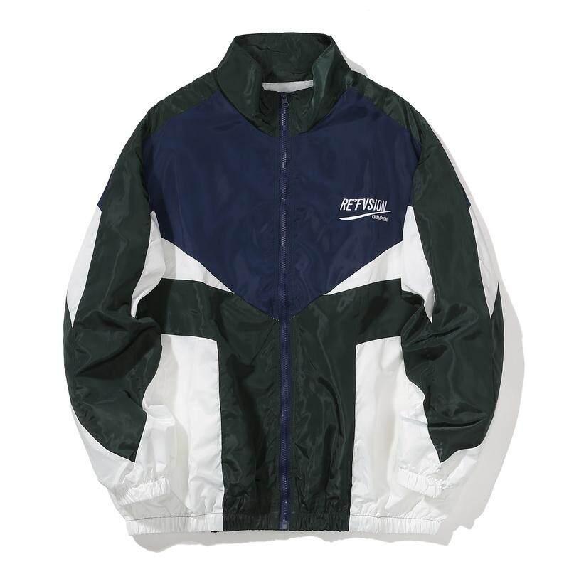 Encontrar ผู้ชายฮิปฮอปแจ็คเก็ตฤดูใบไม้ร่วง INS เสื้อญี่ปุ่นฮาราจูกุหลายกระเป๋าแจ็คเก็ตย้อนยุคแจ็คเก็ตแบบสบายๆขนาด S-2XL