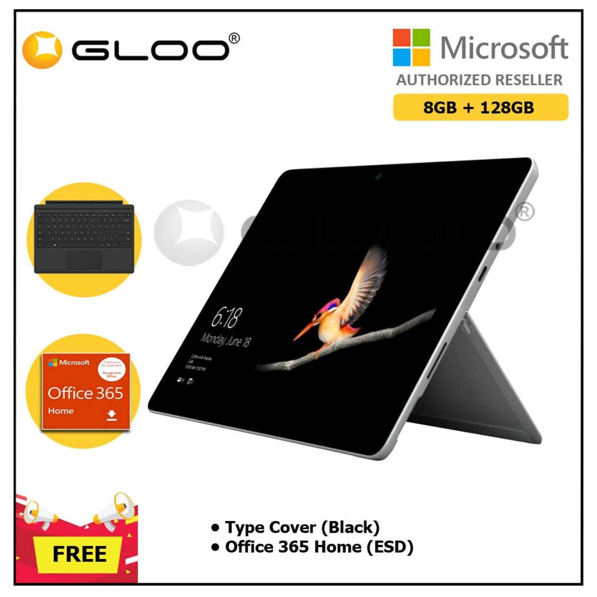 Surface Go Y/8GB 128GB + Surface Go Type Cover Black + Office 365 Home ESD