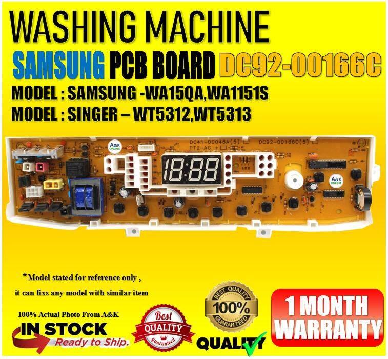 SINGER / Samsung washing machine PCB board WT5312 WT5313 DC92-00166C
