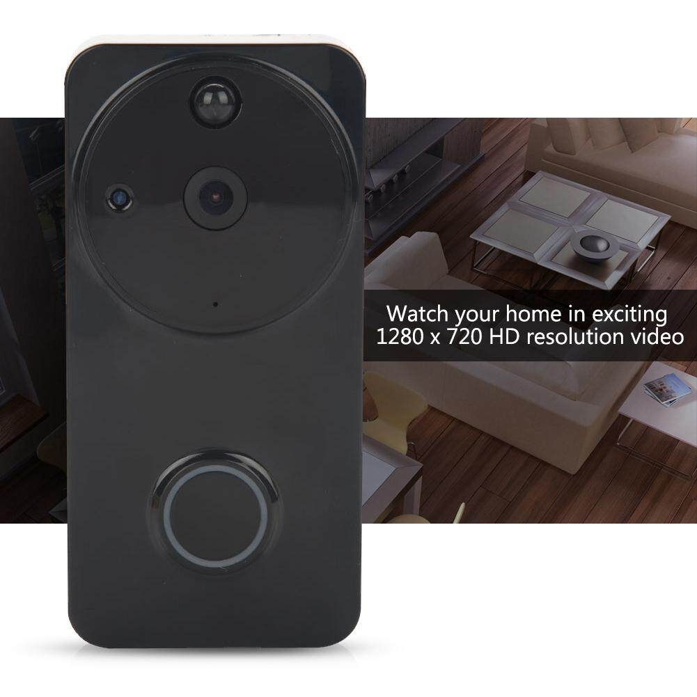 CCTV & IP Cameras - Consumption Household Alarm WiFi Wireless Video Intercom - [BLACK) / (WHITE)]