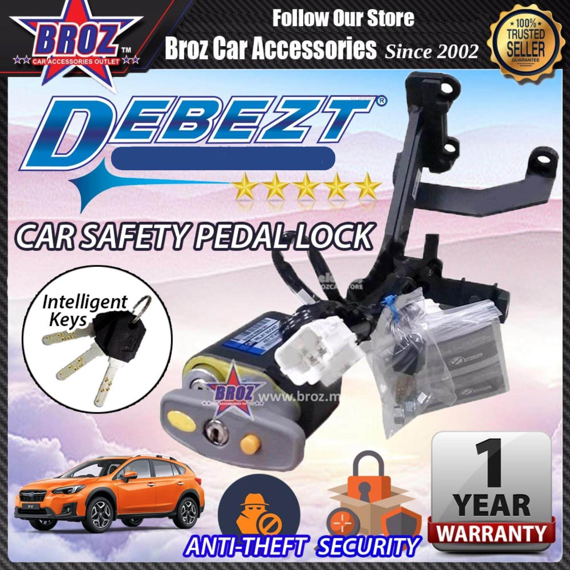 XV 2013-2017 Debezt Auto Key Start Anti Theft Double Pedal Lock