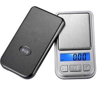 0.01g-200g LCD Ultrathin Jewelry Drug Digital Portable Pocket Scale