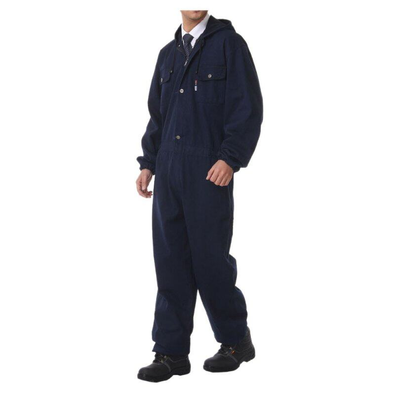 020 Jeans Jumpsuit Working Protective Gear Uniform Welder Jacket Int:S