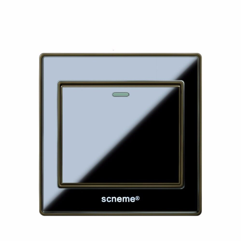 The New Price Of Legrand Mallia 2 Gang 1 Way And Update Switch Black Color Acrylic Panel Light 250v Wall Intl