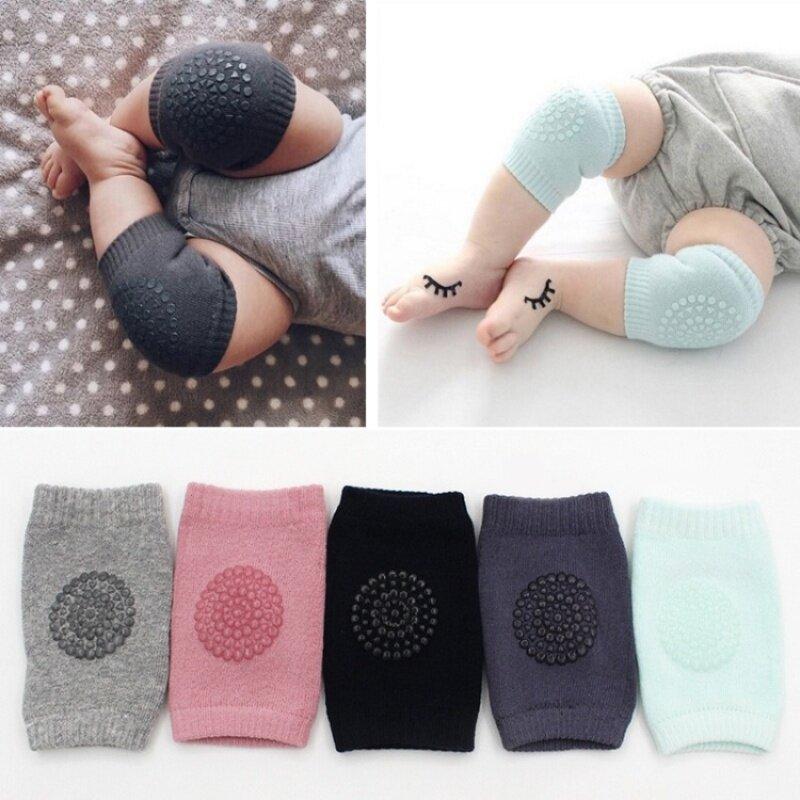 Buy 1 Pair Baby Knee Pads Leg Protector Anti Slip Crawling Accessory Baby leg Knees Protector Warmer Baby Crawling Protectors Malaysia