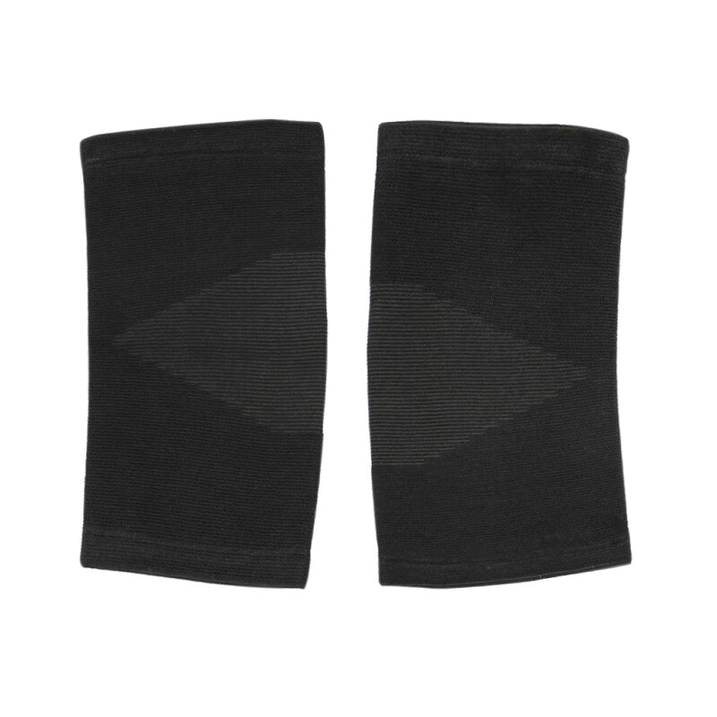 Buy 1 PC High Elastic Jacquard Weave Knitted Knee Support Adults Sports Joint Supports Brace Knee Warmer Black Malaysia