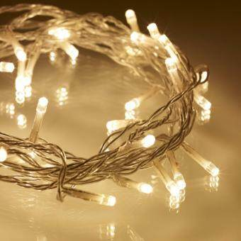 Harga 10 Meters Waterproof Fairy Lights - Transparent Cable