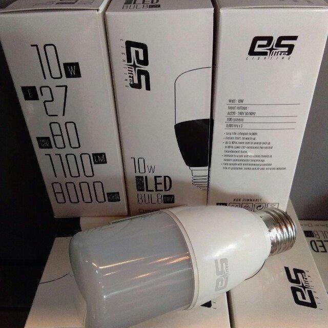 10 pcs ES Lite Super LED bulb 10w 1100 lumen Daylight E27