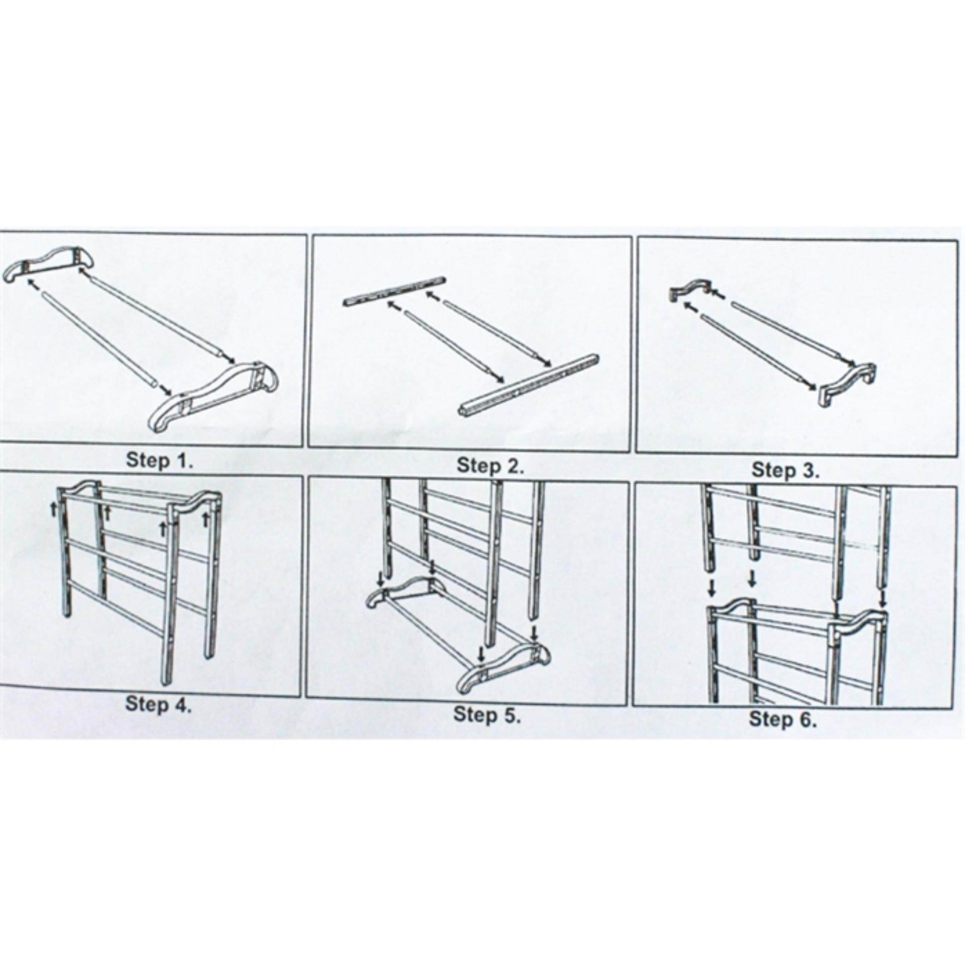 10 Tier Amazing Stainless steel Shoe Rack (WHITE)