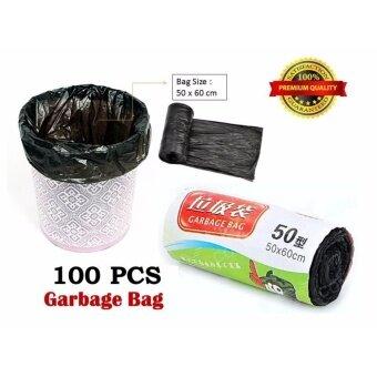 sell 100 pcs garbage bag kitchen trash bag toilet size 50. Black Bedroom Furniture Sets. Home Design Ideas