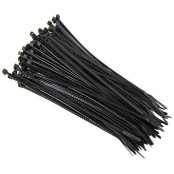 1000Pcs New Nylon Zip Trim Wrap Cable Loop Ties Tie Wraps Wire Self Locking black
