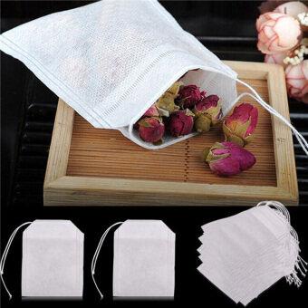 100pcs Non Woven Tea Bags Seal Filter Herb Disposable Tea Bags HomeTools - 4