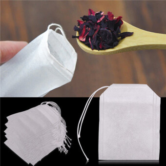100pcs Non Woven Tea Bags Seal Filter Herb Disposable Tea Bags HomeTools - 2