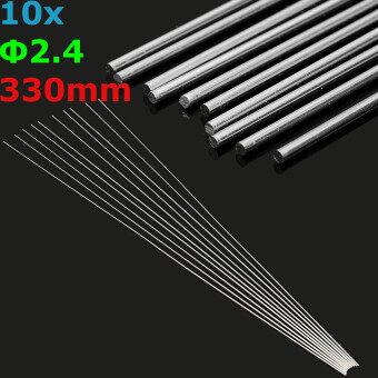 10pcs 2.4mm Aluminum Alloy Silver TIG Filler Rods Welding BrazingWire Tools