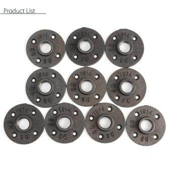 Sell 10pcs 3 4 39 39 black malleable threaded floor flange for 1 in black malleable iron threaded floor flange