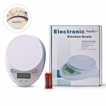 11lbs/5kg Digital LCD Kitchen Food Diet Weight Balance Weighing Scale New Food Scale Baking Scale