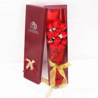 Harga 11pcs LOVE Flowers / Soap Flowers Gift / Love Present for BirthdayAnniversary Valentines mother