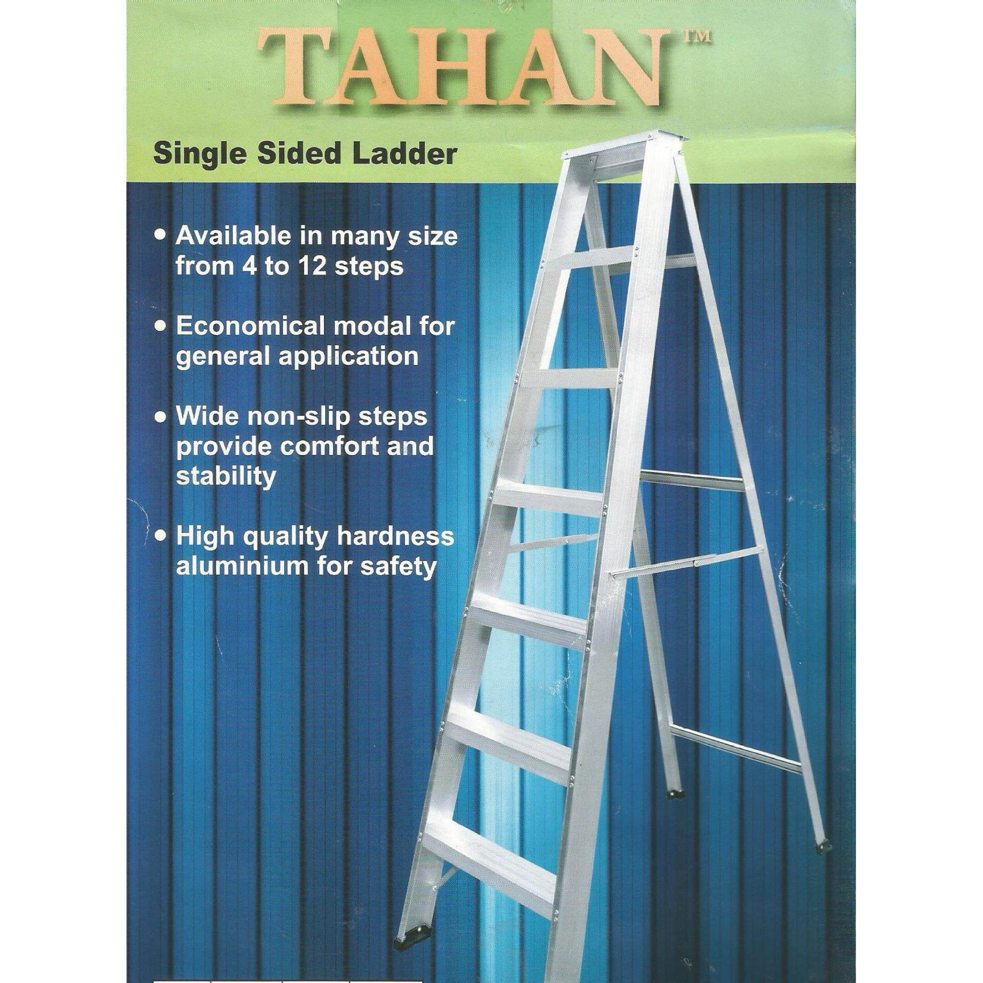 Royal Expert New Arrival Tang Buaya Camel 10 In Heavy Duty 12 Steps Single Sided Working Ladder Same Day Ship Silver