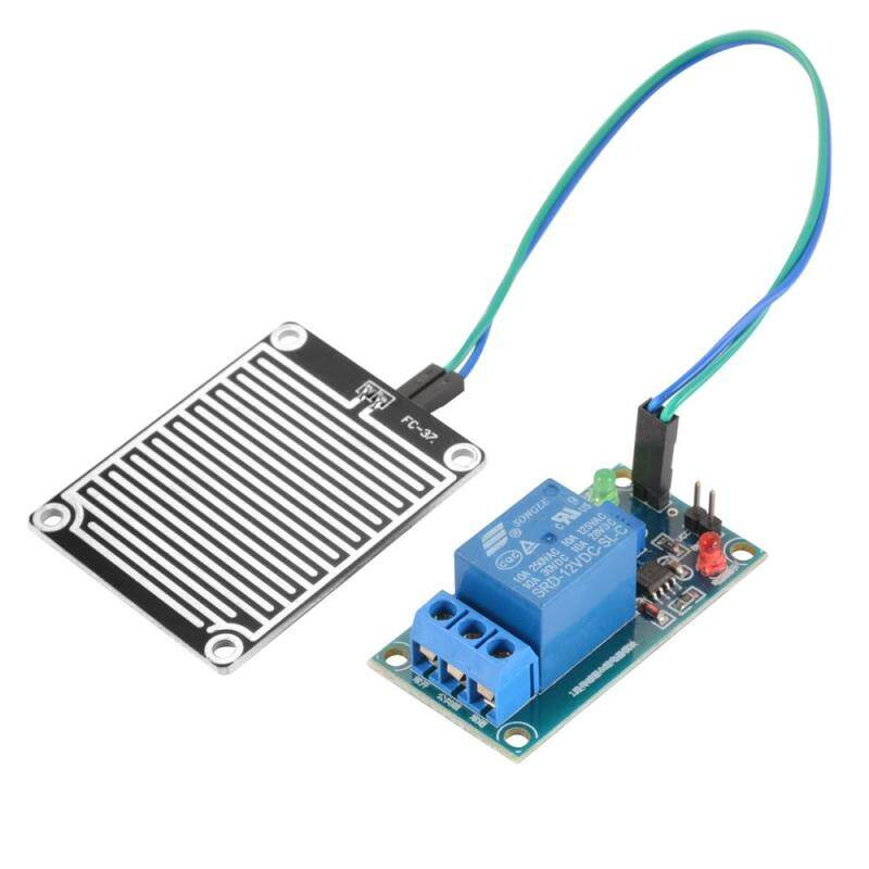 12V Rain Water Raindrop Relay Sensor Control Module Kit for Arduino DIY