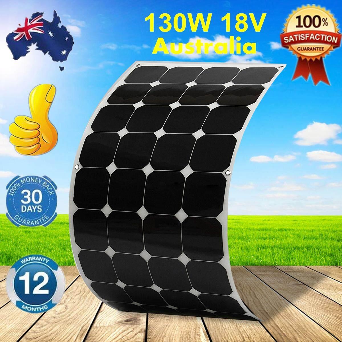 140 W 18 V Elfeland Sunpower-fleksibel Panel Surya Off Grid untuk Mobil RV-