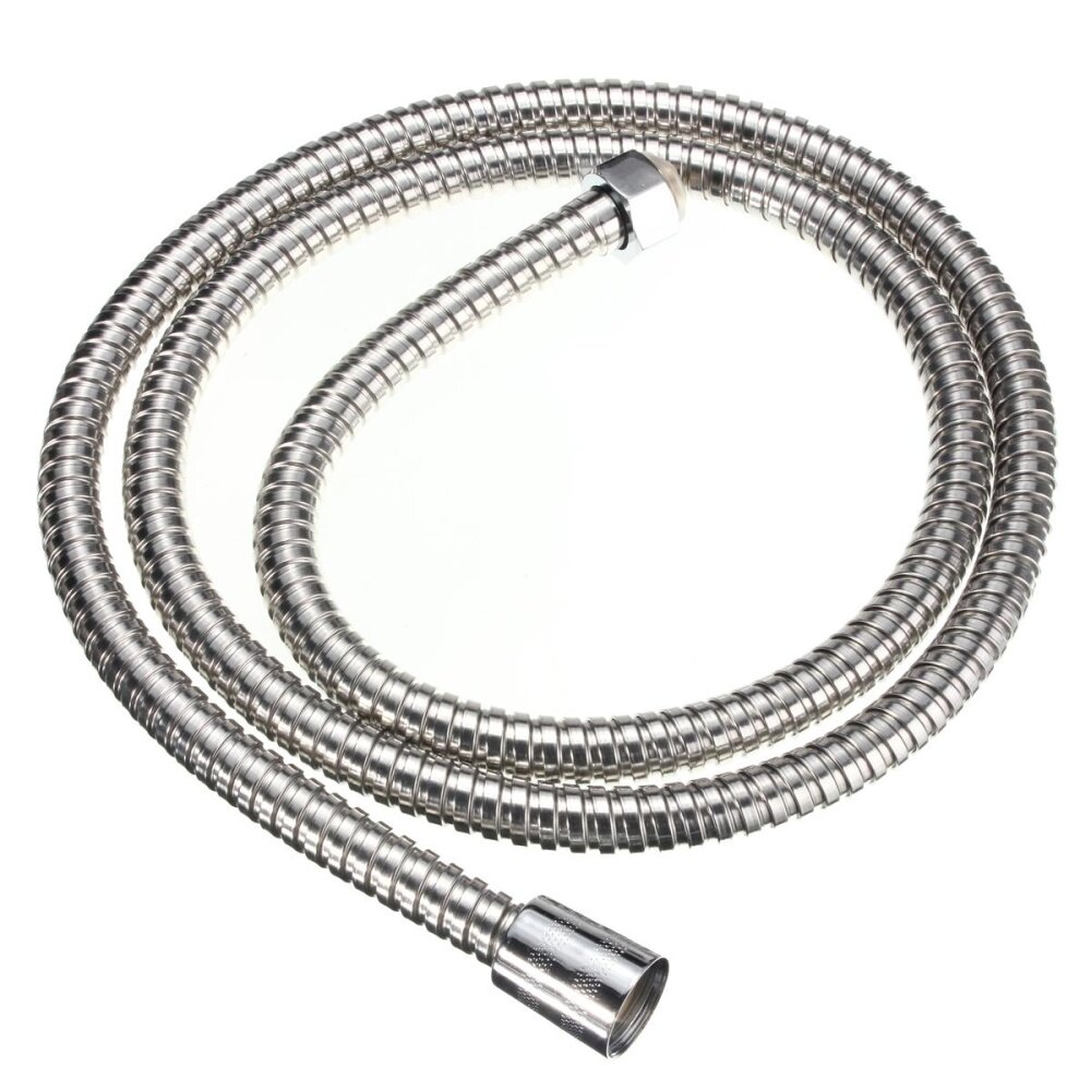 1.5m Stainless Steel Shower Head Pipe Heater Water Tube Flexible Hose Bathroom