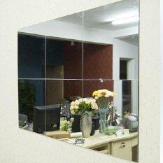 16pcs bathroom square removeable selfadhesi ve mosaic tiles mirror wall s tickers home decor