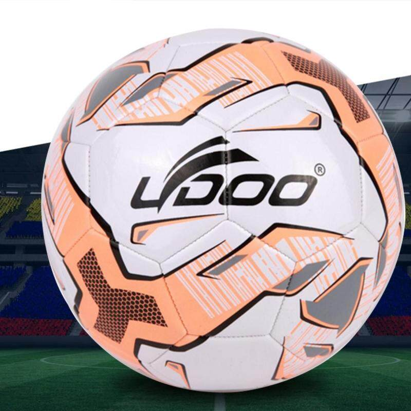 Buy 19cm PU Leather Sewing Wearable Match Football (Fluorescent Pink) Malaysia
