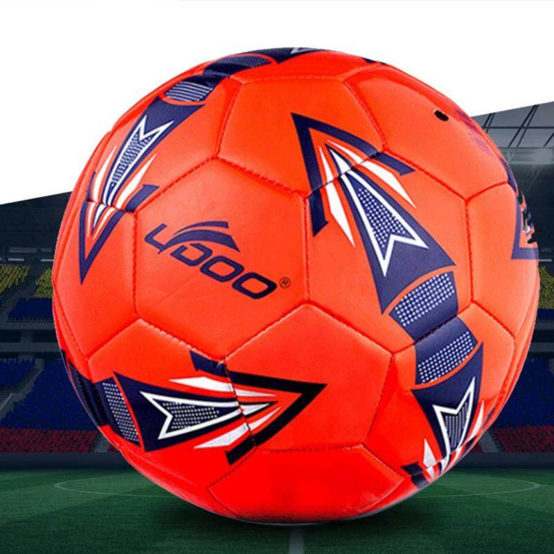 Buy 19cm PU Leather Sewing Wearable Match Football (Red) Malaysia