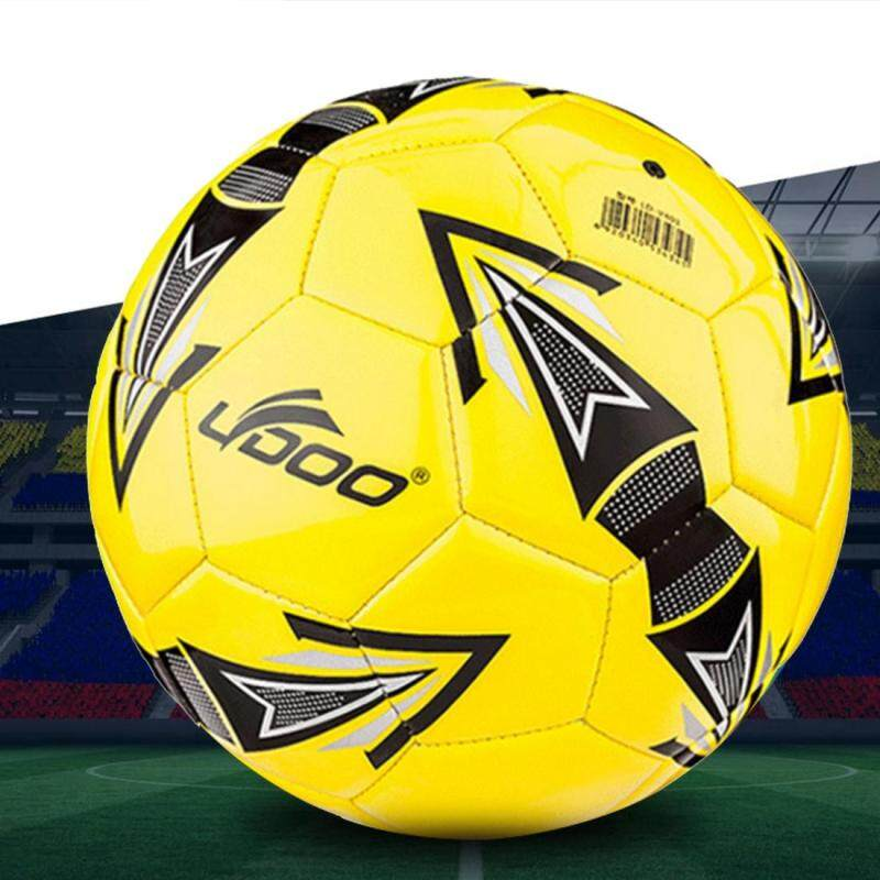 Buy 19cm PU Leather Sewing Wearable Match Football (Yellow) Malaysia