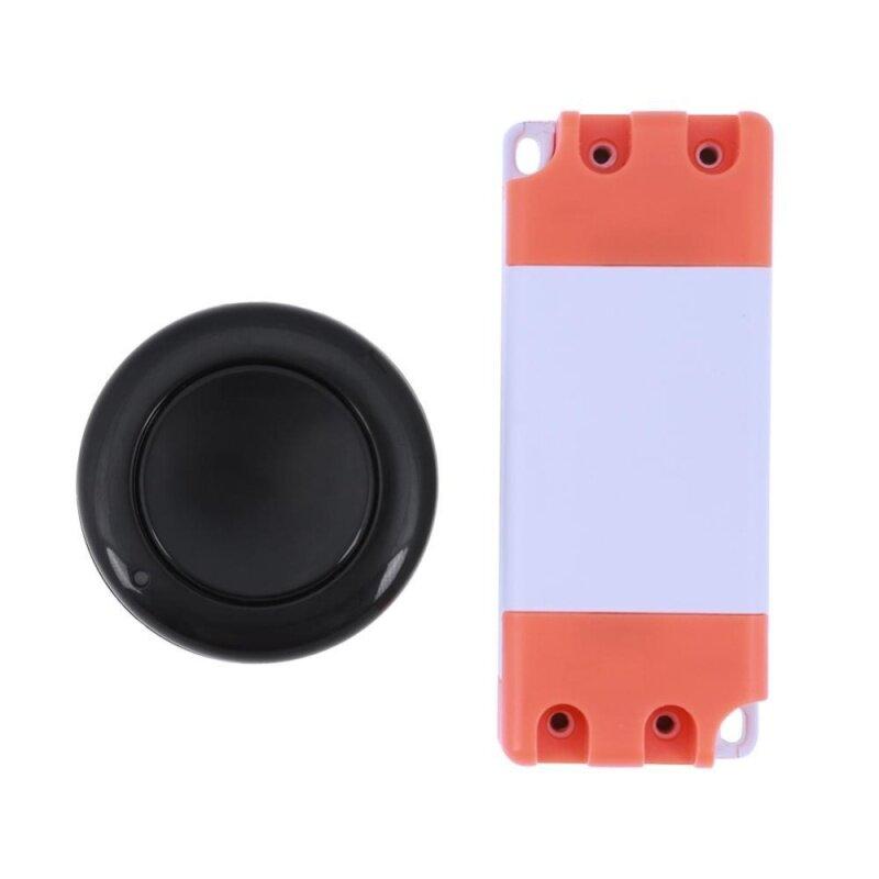 Buy 1CH DC15-120V/ AC85-250V Wireless Remote Control Receiver Switch(Black)-315MHz Malaysia