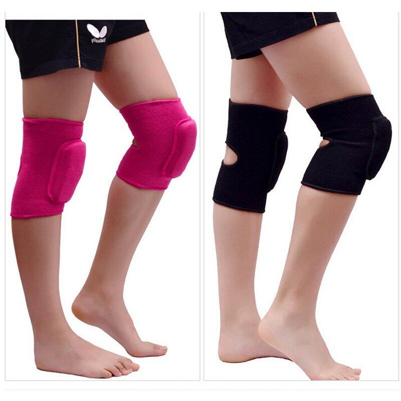 Buy 1pair Adults Dance Knee Pads Baby Crawling Safety Sport Knee Support Gym Fitness Crossfit Tennis Volleyball Kneepad Malaysia